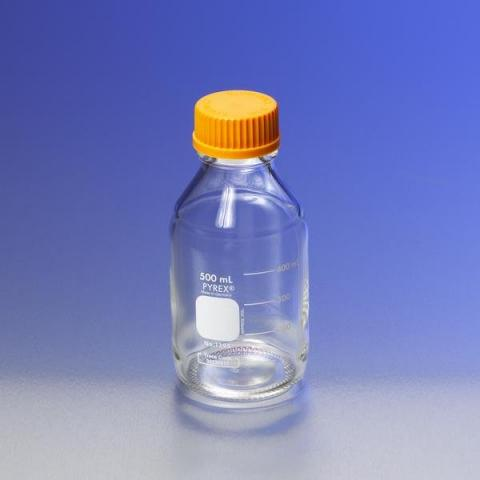 Photo of Corning 1395 PYREX® Media Storage Bottles with GL45-Screw Caps