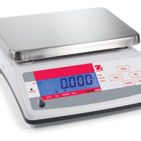 Photo of Valor™ 1000 Compact Precision Scales. Ohaus