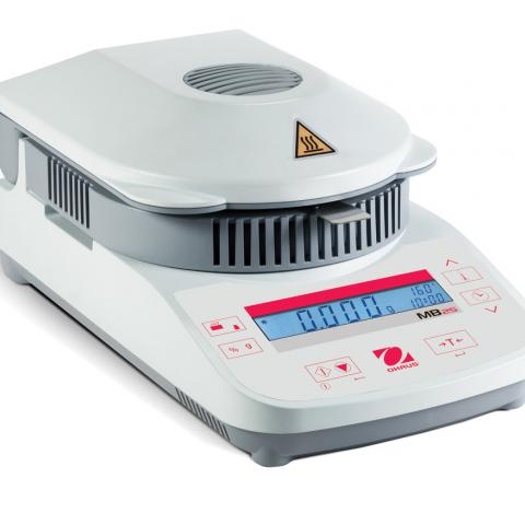 Photo of MB25 Compact Halogen Moisture Analyzer. Ohaus