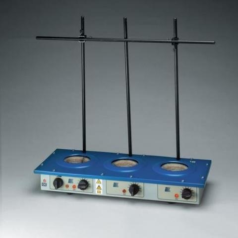 Photo of Electromantle Extraction Heaters. Electrothermal