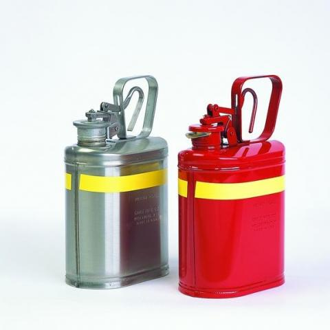 Photo of Type-I Stainless Steel Safety Cans. Eagle