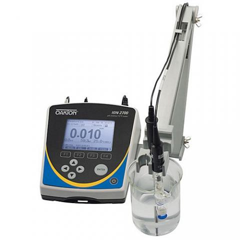 Photo of Oakton ION 2700 Benchtop pH/Specific Ion/mV/Temperature Meters