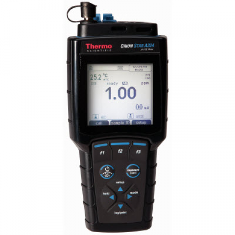 Photo of Thermo Scientific Orion Portable STAR A324 pH/ISE/ORP Meter