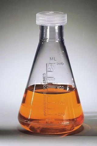 Photo of Nalgene 4108 Polycarbonate Graduated Erlenmeyer Flasks with Screw Caps