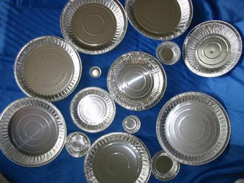 Photo of Dyn-A-Med 80066 Aluminum Laboratory Pans