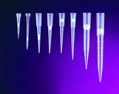 Photo of Filtered Pipet Tips. ALADN