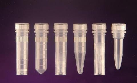 Photo of Screw Cap Graduated Microcentrifuge Tubes